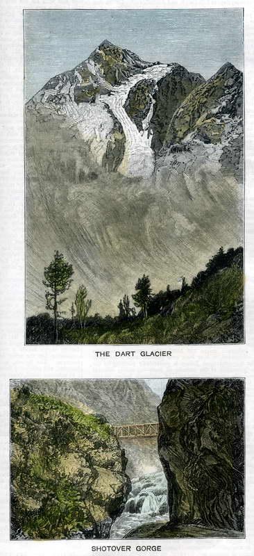 Dart Glacier, Shotover Gorge