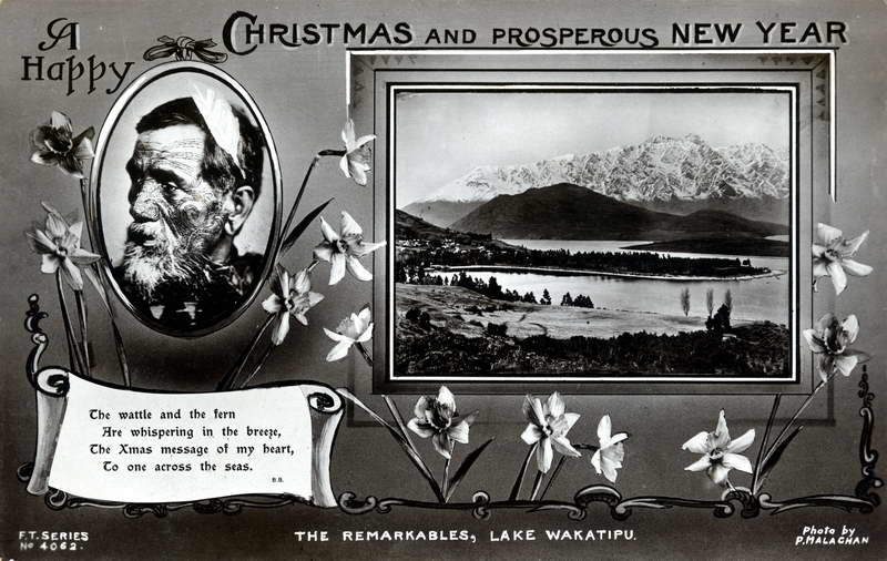 The Remarkables, Xmas Greeting Card