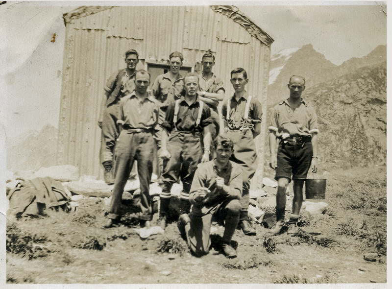Tramping Club at Mckinnon Pass Hut