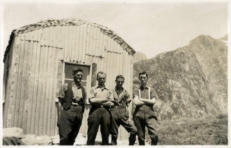 Tramping Club at Mckinnon Pass Hut