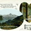 Walter Peak, Paradise, Xmas Greeting Card