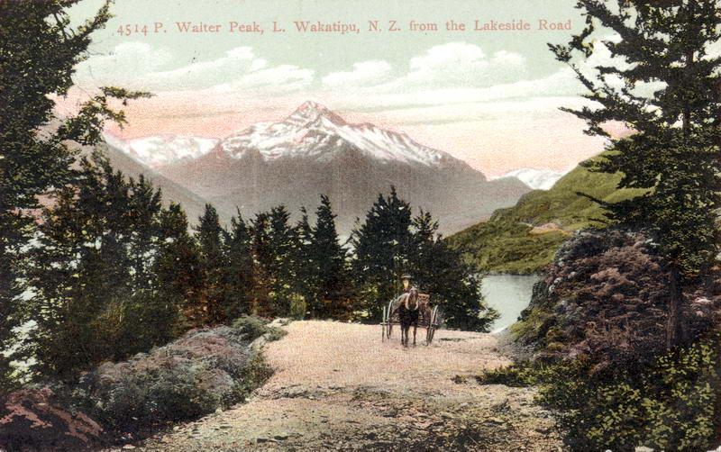 Walter Peak from Lakeside Road