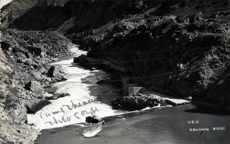 Weir, Kawarau Gorge