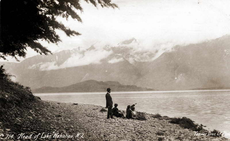 Head of Lake Wakatipu