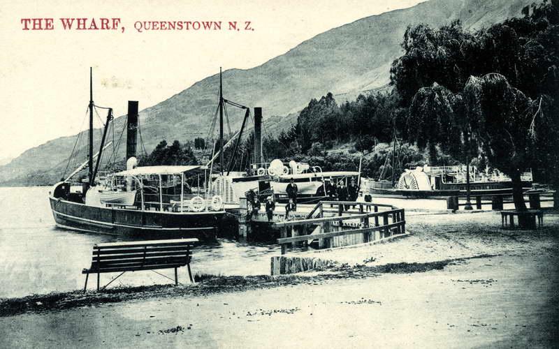 Ben Lomond at Queenstown Wharf