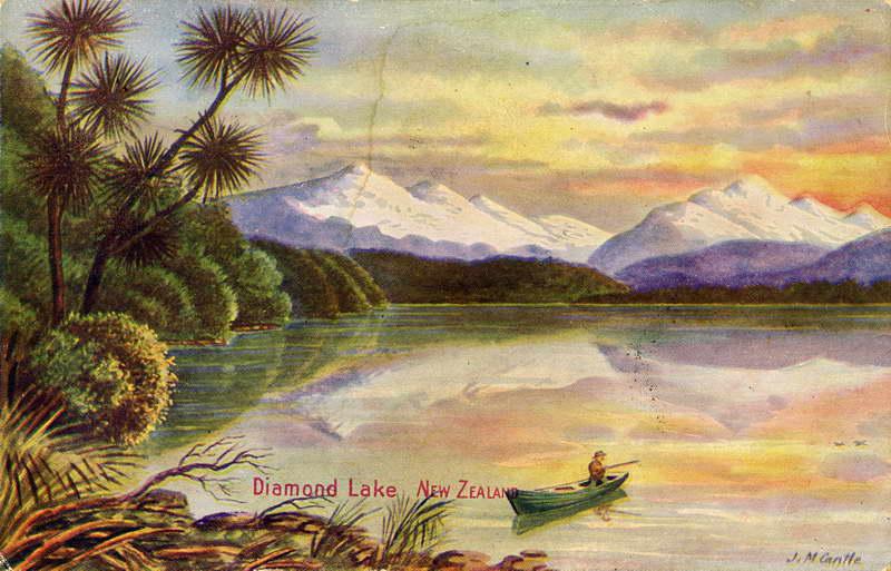 Diamond Lake - J.M Cantle