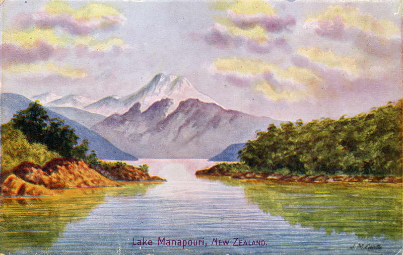 Lake Manapouri - J.M Cantle