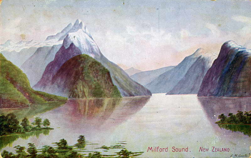 Milford Sound - J.M Cantle