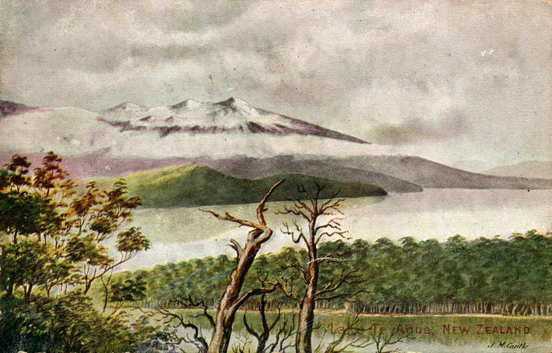Lake Te Anau (Anue) - J.M Cantle