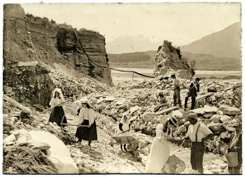 Mining, Head of the Lake, Glenorchy