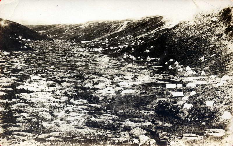 Gabriels Gully, 1862