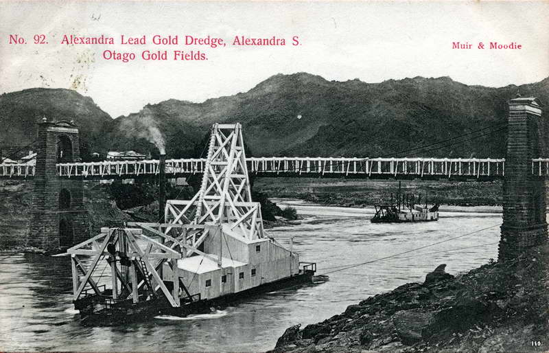 Alexandra S Lead Gold Dredge