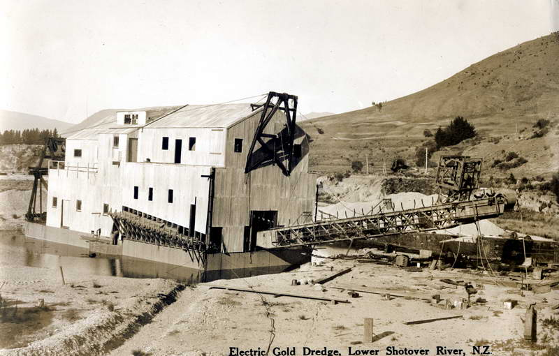 Electric Gold Dredge, Lower Shotover