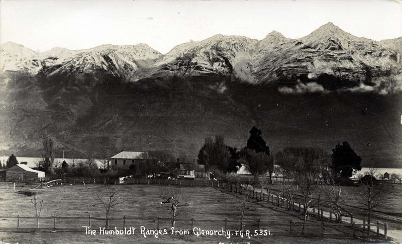 FGR 5351, The Humboldt Ranges From Glenorchy