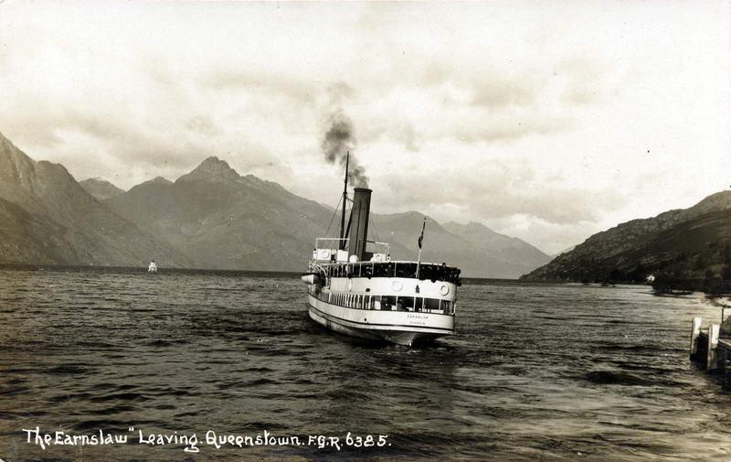 FGR 6385, The Earnslaw Leaving Queenstown