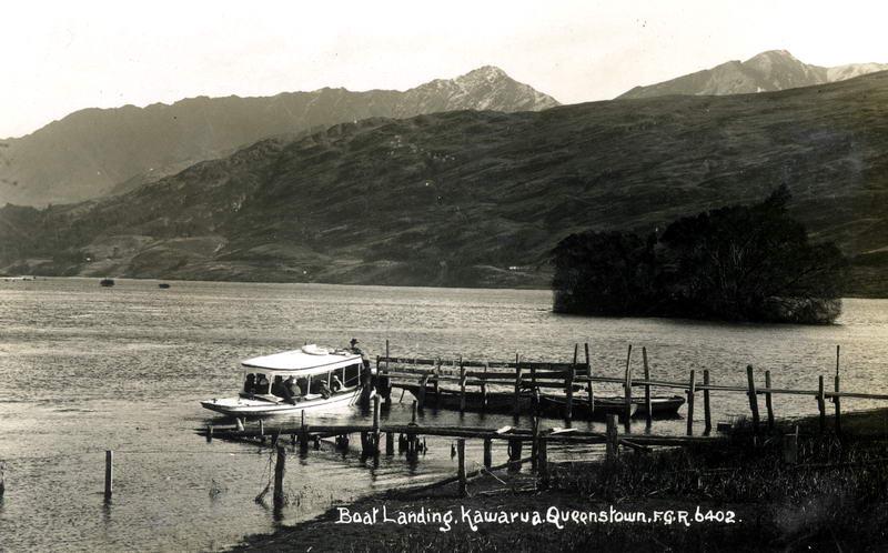 FGR 6402, Boat Landing, Kawarua, Queenstown