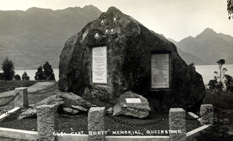 FGR 6431, Capt. Scott Memorial, Queenstown