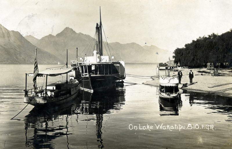 FGR 810, On Lake Wakatipu