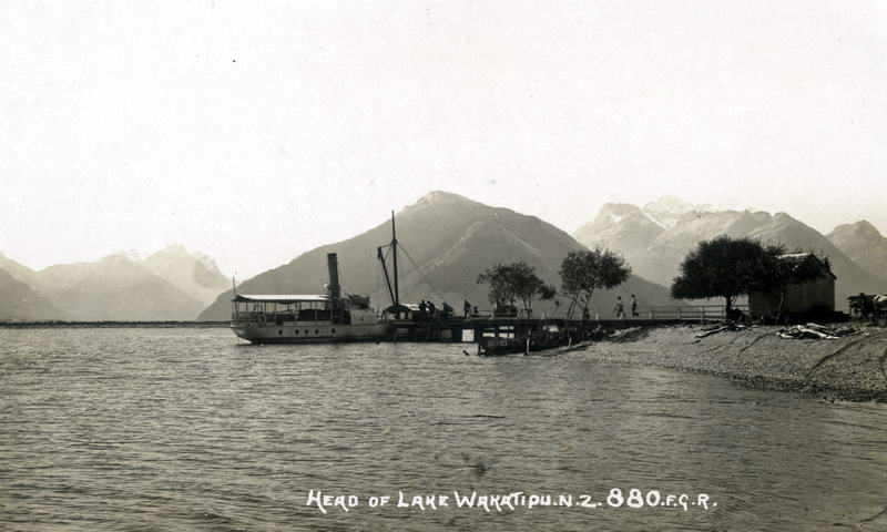 FGR 880, Head of Lake Wakatipu