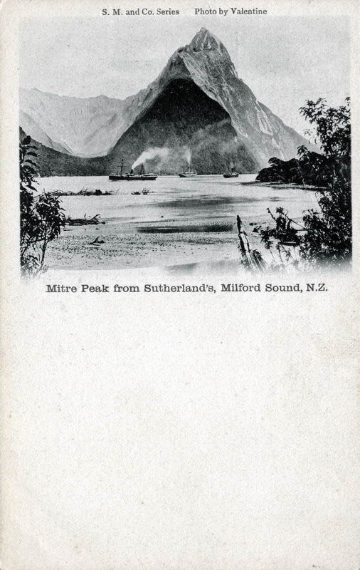 Mitre Peak from Sutherland's