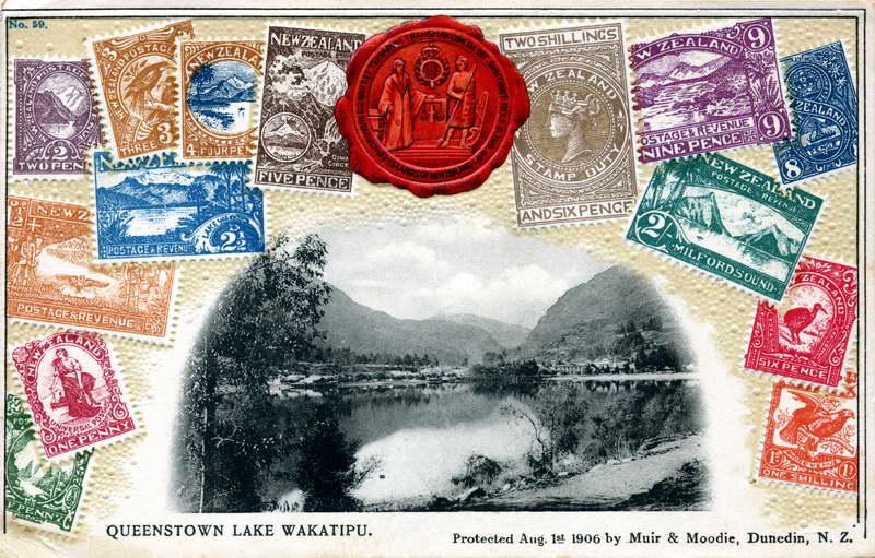 Queenstown, M&M Stamp Card
