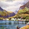 Queenstown, Watercolour