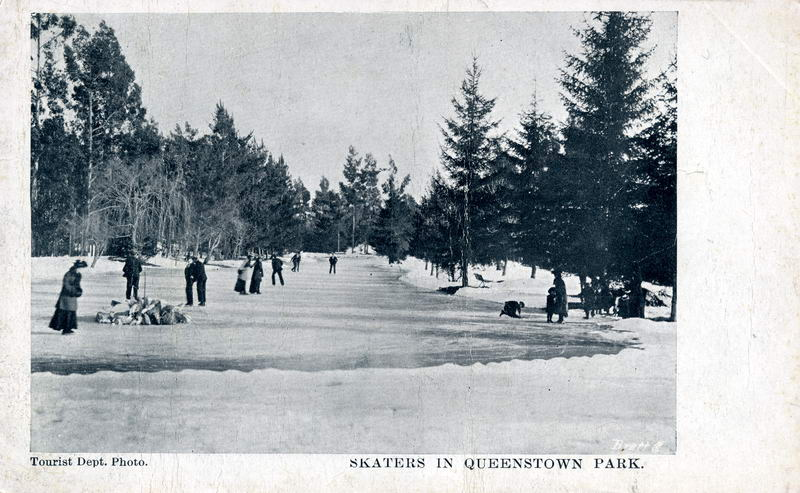 Skaters, Queenstown Park